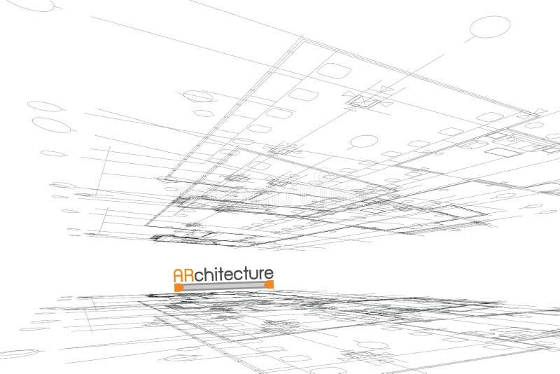 αρχιτεκτονικής βαθύ σχέδιο πυξίδων ανασκόπησης μπλε στοκ εικόνες