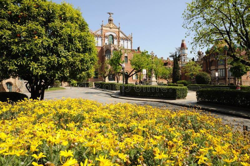 αρχιτεκτονική Βαρκελώνη Ισπανία στοκ φωτογραφίες με δικαίωμα ελεύθερης χρήσης