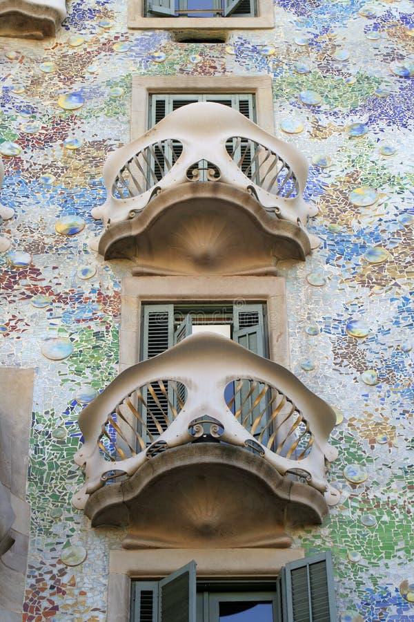 αρχιτεκτονική Βαρκελώνη στοκ φωτογραφία