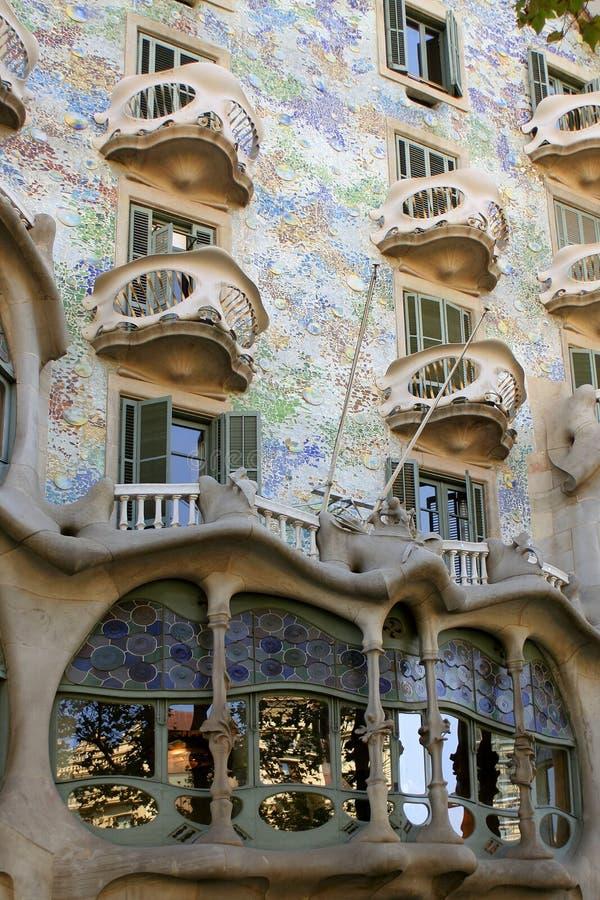 αρχιτεκτονική Βαρκελώνη στοκ εικόνες