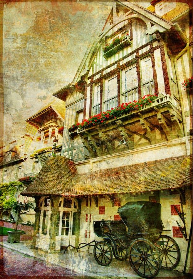 αρχιτεκτονική γαλλικά στοκ εικόνες
