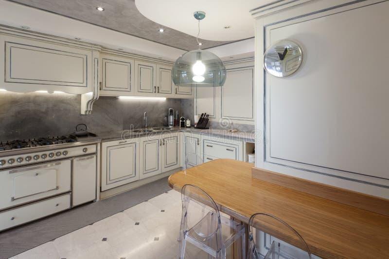 Αρχιτεκτονική  εσωτερική κουζίνα στοκ φωτογραφίες με δικαίωμα ελεύθερης χρήσης