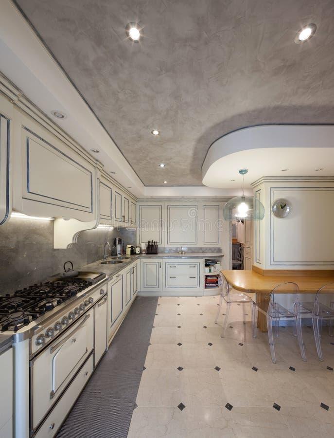 Αρχιτεκτονική  εσωτερική κουζίνα στοκ φωτογραφία με δικαίωμα ελεύθερης χρήσης