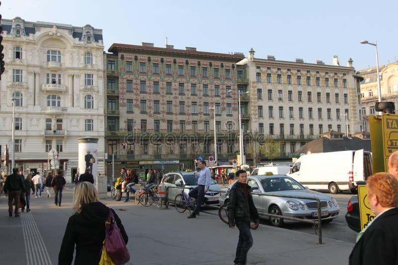 Αρχιτεκτονική και ιστορία της Βιέννης Αυστρία Ευρώπη στοκ εικόνες