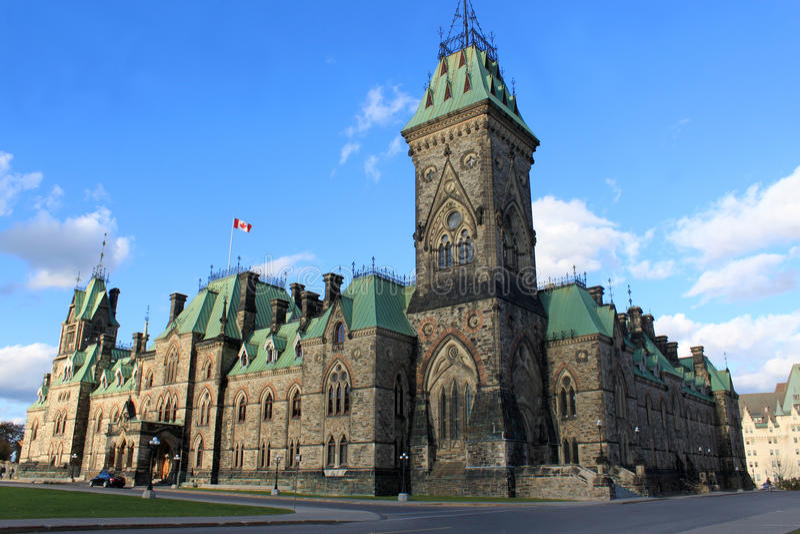 αρχιτεκτονική Καναδάς Ο&t στοκ εικόνες