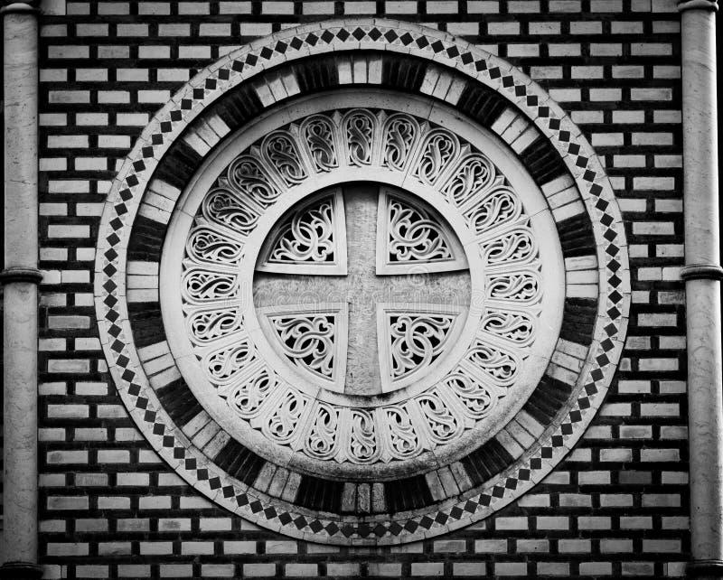 Αρχιτεκτονική λεπτομέρεια της βίλας Pamphili στοκ εικόνα