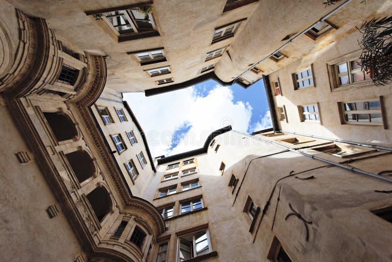 αρχιτεκτονική Λυών στοκ φωτογραφία με δικαίωμα ελεύθερης χρήσης