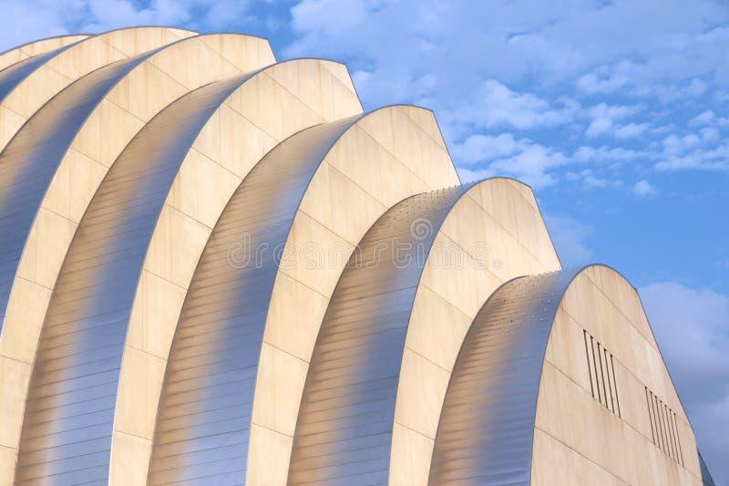 Αρχιτεκτονική πόλεων του Κάνσας στοκ εικόνα