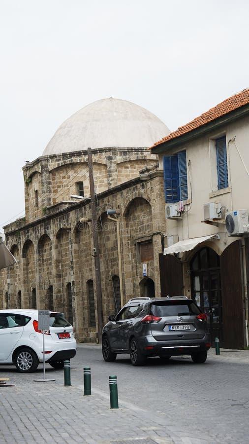 Αρχιτεκτονική στις οδούς της Κύπρου στοκ εικόνα