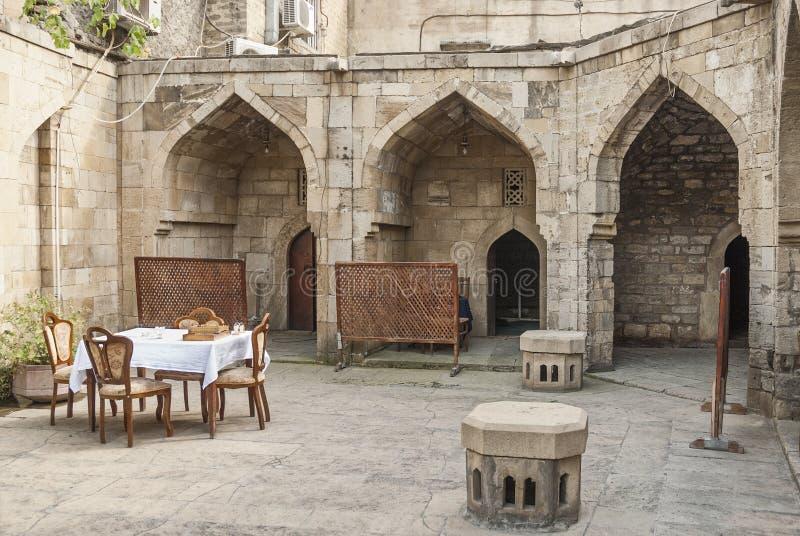 Αρχιτεκτονική στο Μπακού Αζερμπαϊτζάν στοκ εικόνα