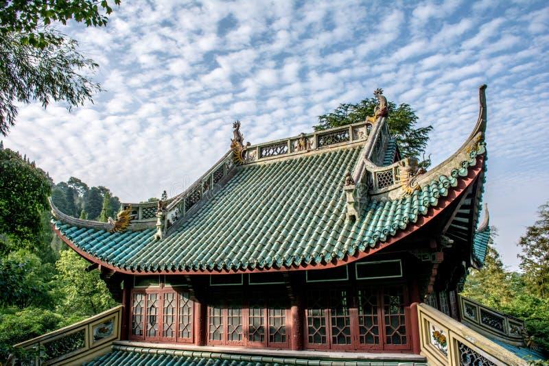Αρχιτεκτονική της Κίνας στοκ φωτογραφία με δικαίωμα ελεύθερης χρήσης