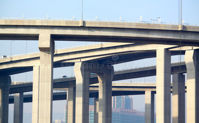 Αρχιτεκτονική της κατασκευής εθνικών οδών στοκ φωτογραφία