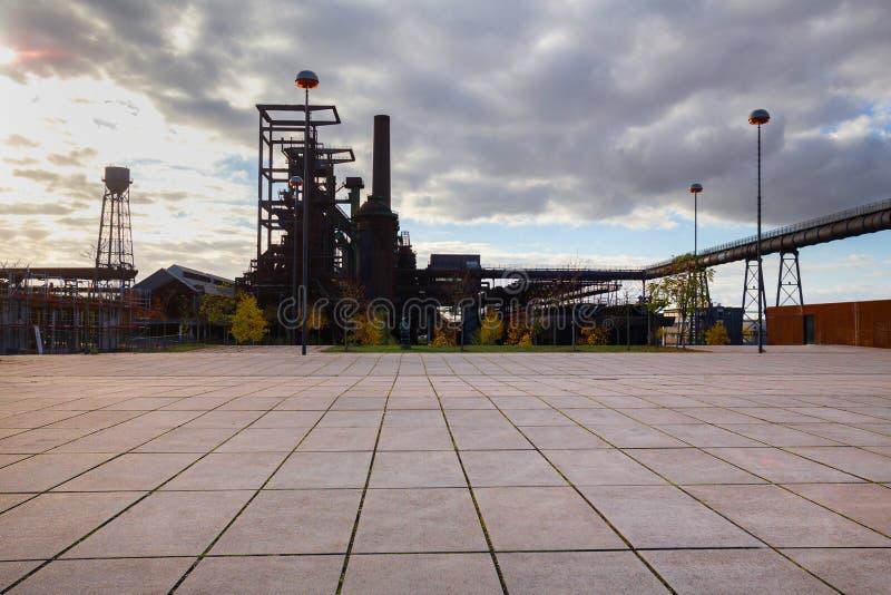 Αρχιτεκτονική φθινοπώρου του Ντόρτμουντ Γερμανία στοκ φωτογραφία με δικαίωμα ελεύθερης χρήσης
