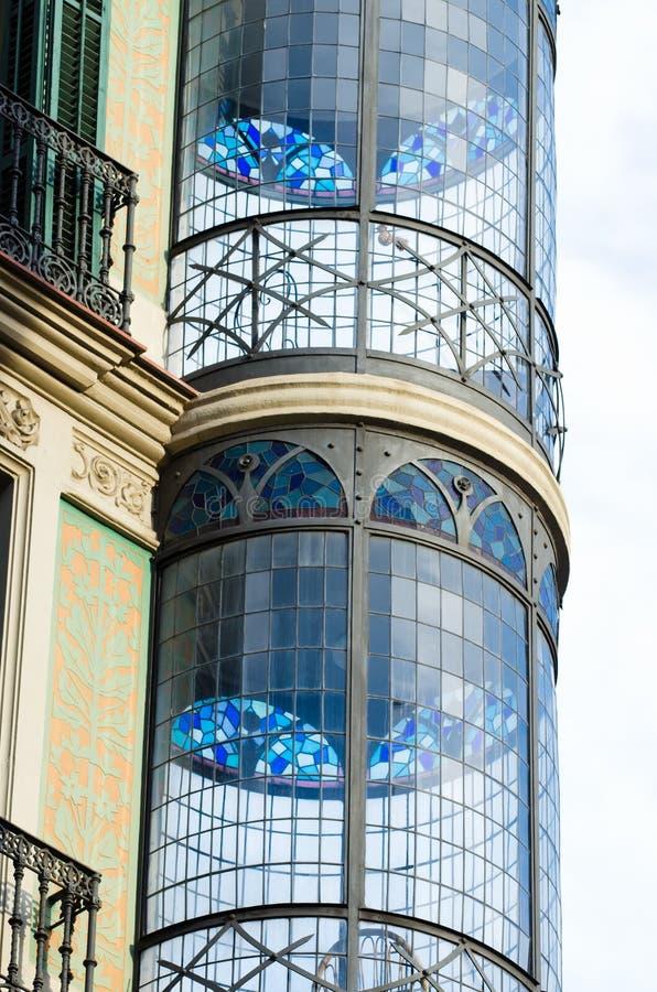Αρχιτεκτονική Barcelone στοκ φωτογραφία με δικαίωμα ελεύθερης χρήσης
