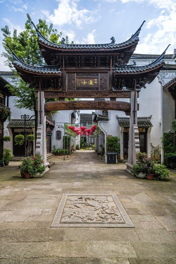 Αρχιτεκτονική Huizhou στοκ φωτογραφία με δικαίωμα ελεύθερης χρήσης