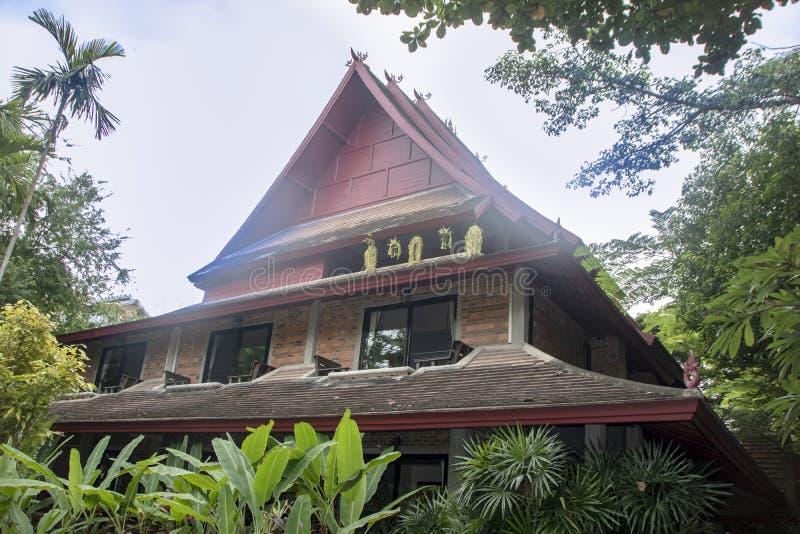Αρχιτεκτονική Lanna στοκ φωτογραφία με δικαίωμα ελεύθερης χρήσης