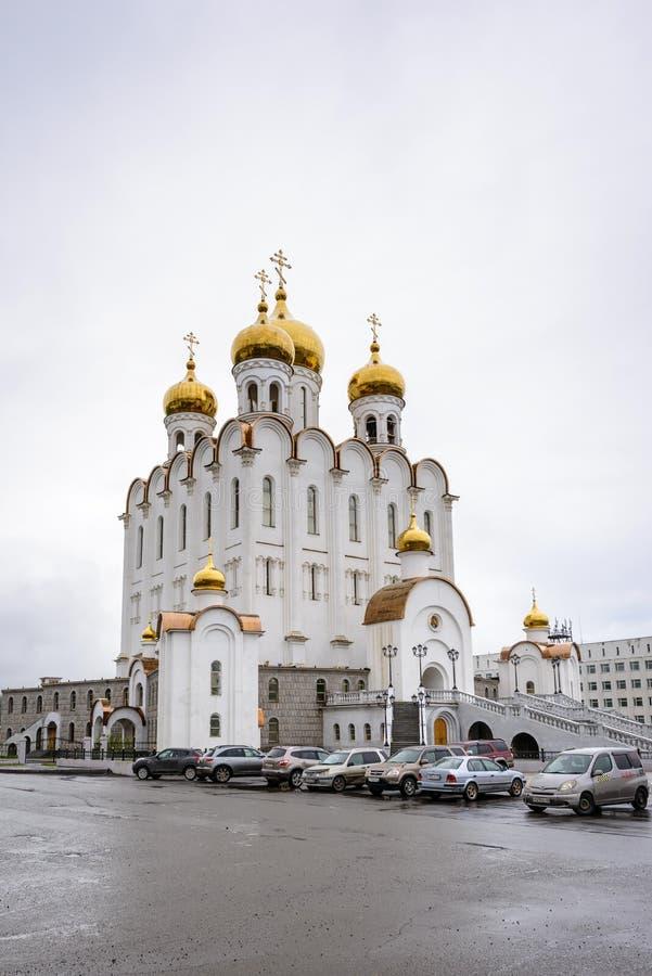 Αρχιτεκτονική Magada, Ρωσική Ομοσπονδία στοκ εικόνα με δικαίωμα ελεύθερης χρήσης