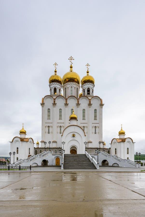 Αρχιτεκτονική Magada, Ρωσική Ομοσπονδία στοκ εικόνα