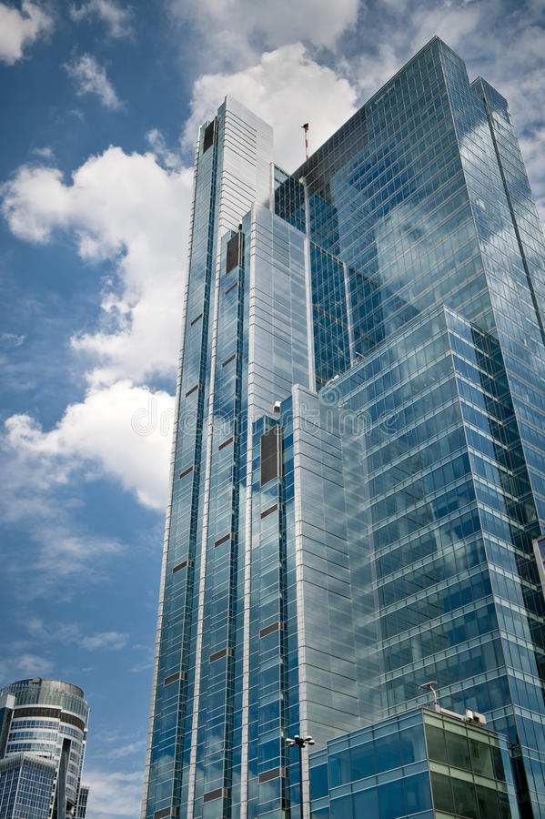 αρχιτεκτονική moder Βαρσοβί&alpha στοκ φωτογραφίες με δικαίωμα ελεύθερης χρήσης