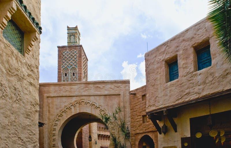 αρχιτεκτονική morrocan στοκ φωτογραφίες με δικαίωμα ελεύθερης χρήσης