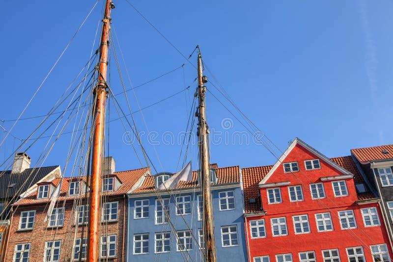 Αρχιτεκτονική Nyhavn στοκ εικόνες