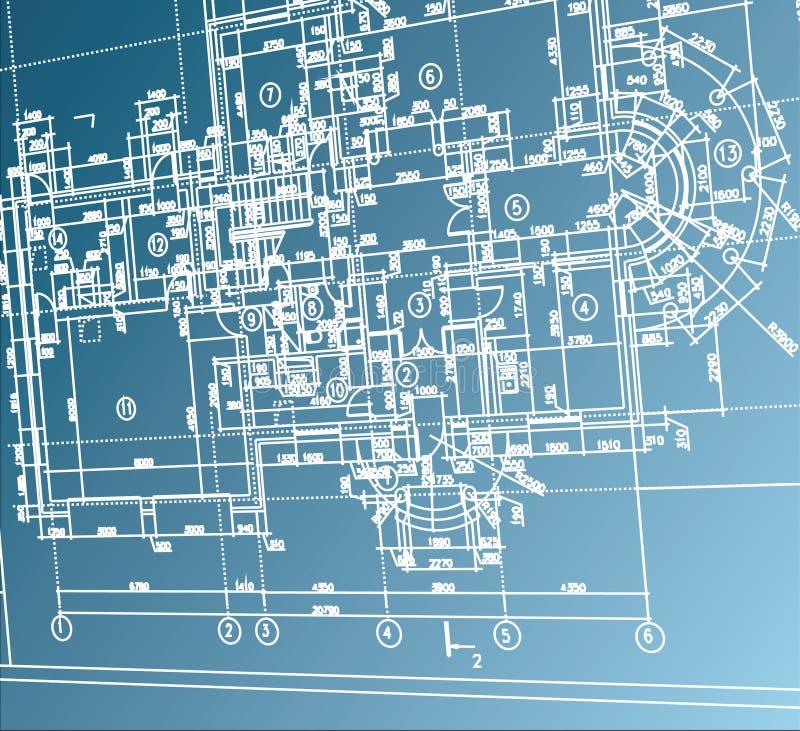 αρχιτεκτονικό διάνυσμα &alpha ελεύθερη απεικόνιση δικαιώματος