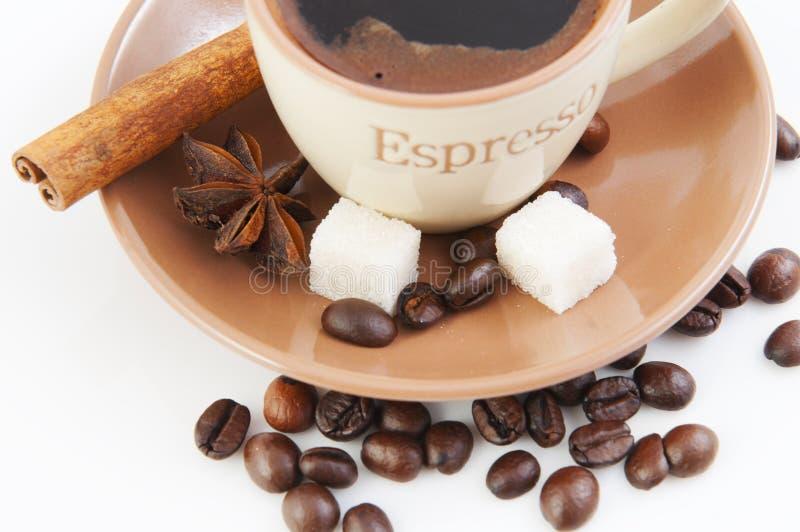 Αρωματικός καφές στοκ φωτογραφία με δικαίωμα ελεύθερης χρήσης
