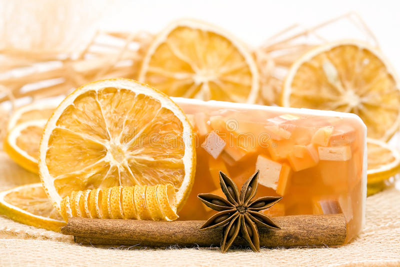 Αρωματικό σαπούνι γλυκερίνης στοκ φωτογραφία