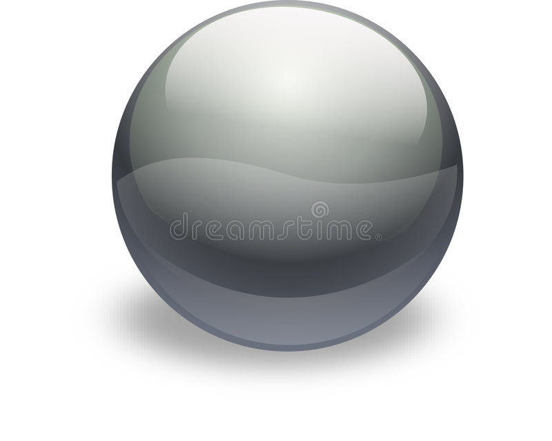 ασήμι γυαλιού κουμπιών ελεύθερη απεικόνιση δικαιώματος