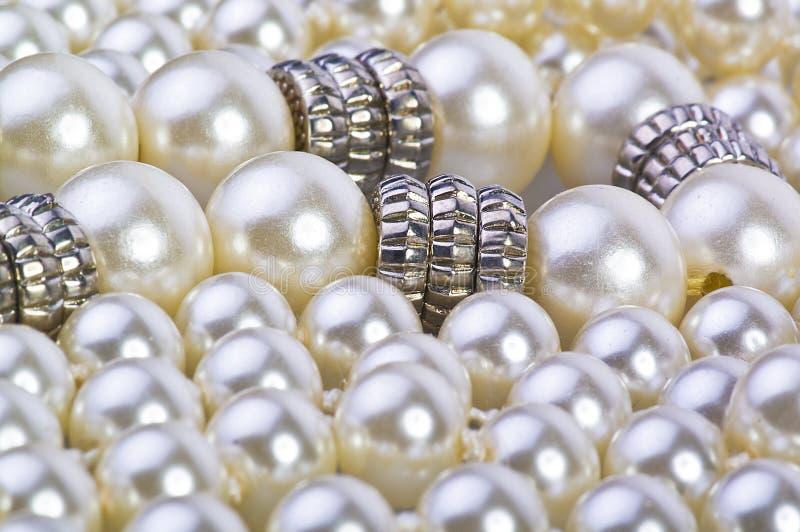 ασήμι μαργαριταριών στοκ φωτογραφία με δικαίωμα ελεύθερης χρήσης