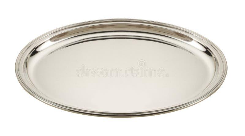 ασήμι πιάτων στοκ φωτογραφίες με δικαίωμα ελεύθερης χρήσης