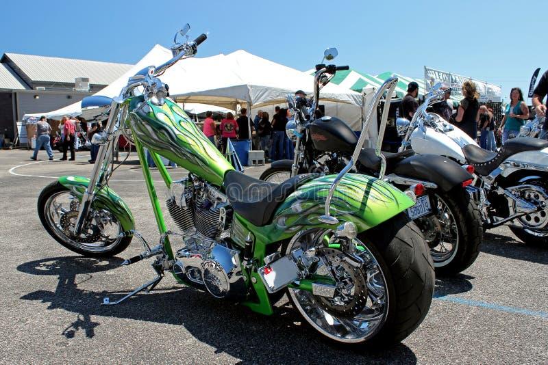 Ασβέστης ο πράσινος Harley 2 στοκ φωτογραφίες με δικαίωμα ελεύθερης χρήσης