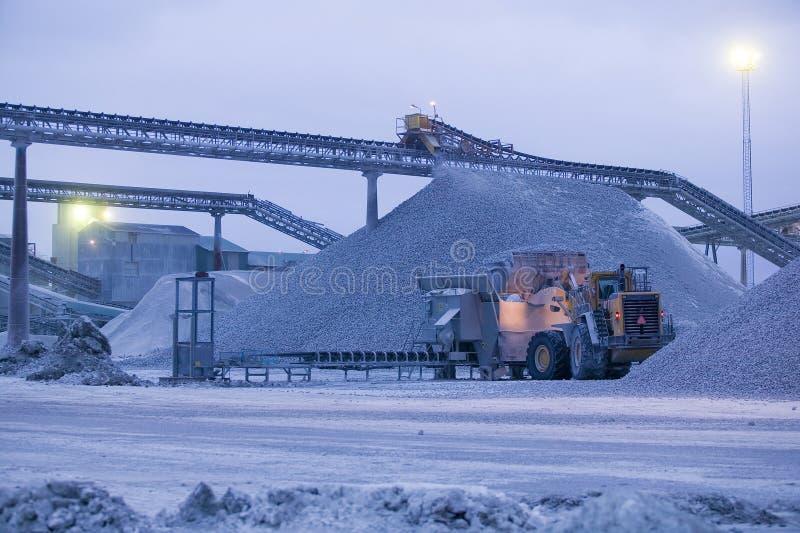 Ασβεστόλιθος quarry.JH στοκ φωτογραφίες με δικαίωμα ελεύθερης χρήσης