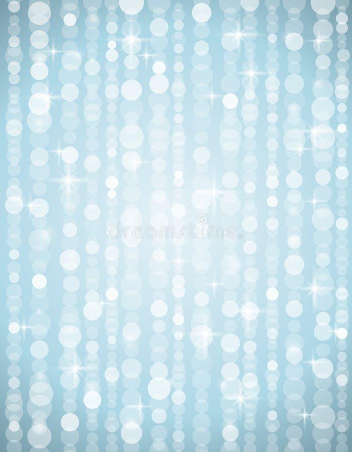 Ασημένια απεικόνιση brightnes κατάλληλη για το christm απεικόνιση αποθεμάτων