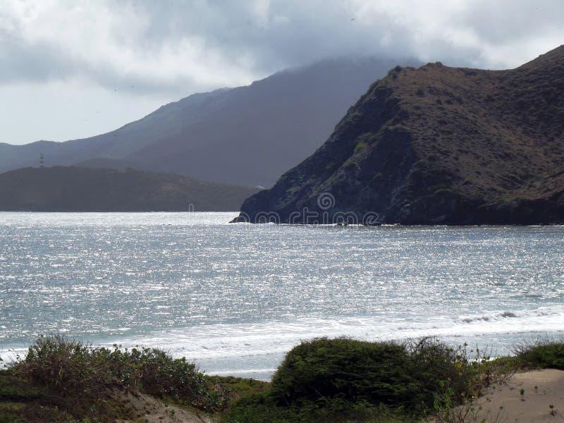 Ασημένια θάλασσα στοκ εικόνα