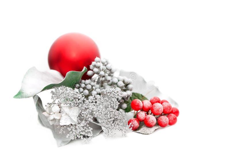 Ασημένια Χριστούγεννα στοκ φωτογραφίες με δικαίωμα ελεύθερης χρήσης