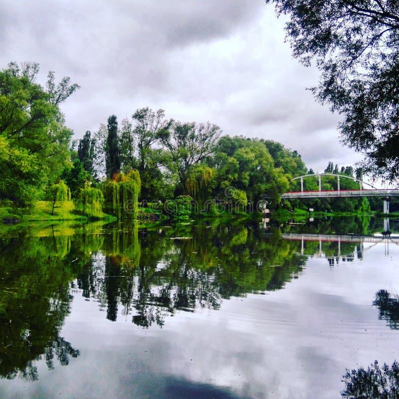 Ασημένιος ποταμός στοκ φωτογραφίες με δικαίωμα ελεύθερης χρήσης