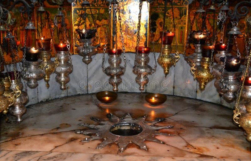 ασημένιο αστέρι nativity στοκ φωτογραφία με δικαίωμα ελεύθερης χρήσης