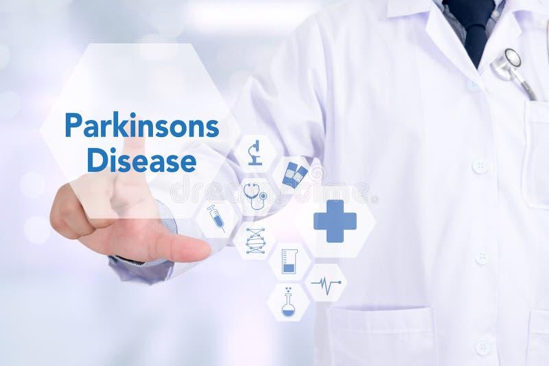 Ασθένεια Parkinsons στοκ εικόνες