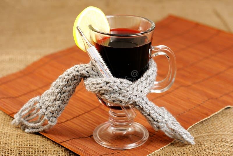 ασθενές ποτό ζεστό στοκ εικόνα