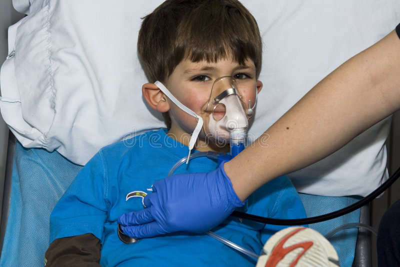 Ασθενής παιδιών στοκ φωτογραφίες