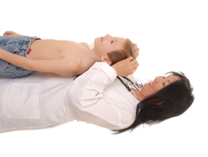 ασθενής 19 γιατρών στοκ φωτογραφία με δικαίωμα ελεύθερης χρήσης