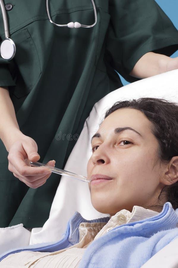 ασθενής στοκ φωτογραφία με δικαίωμα ελεύθερης χρήσης