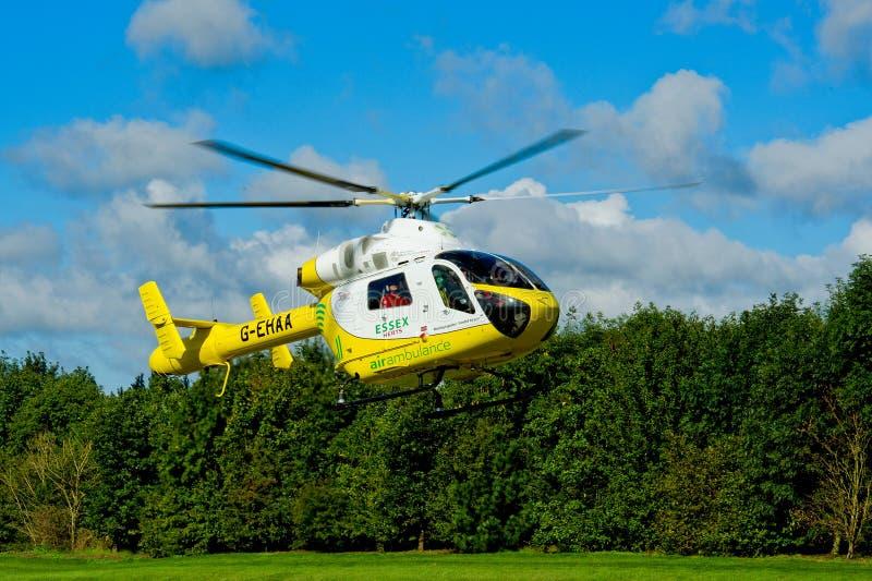ασθενοφόρο Αγγλία αέρα essex στοκ φωτογραφία με δικαίωμα ελεύθερης χρήσης