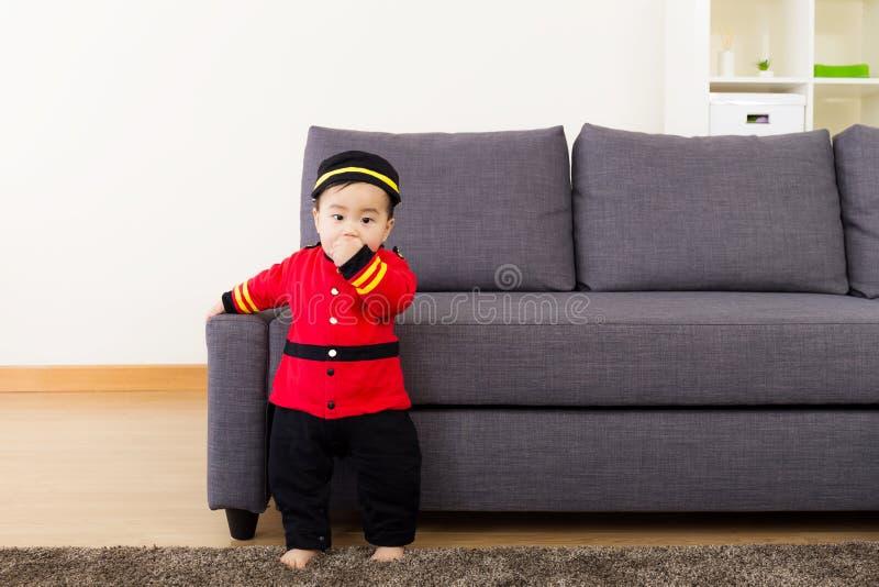 Ασιάτης λίγο μωρό στοκ εικόνα