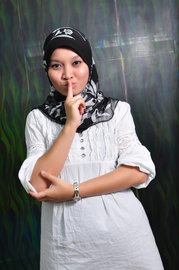 Ασιάτης που κάνει τη γυναί στοκ εικόνα με δικαίωμα ελεύθερης χρήσης
