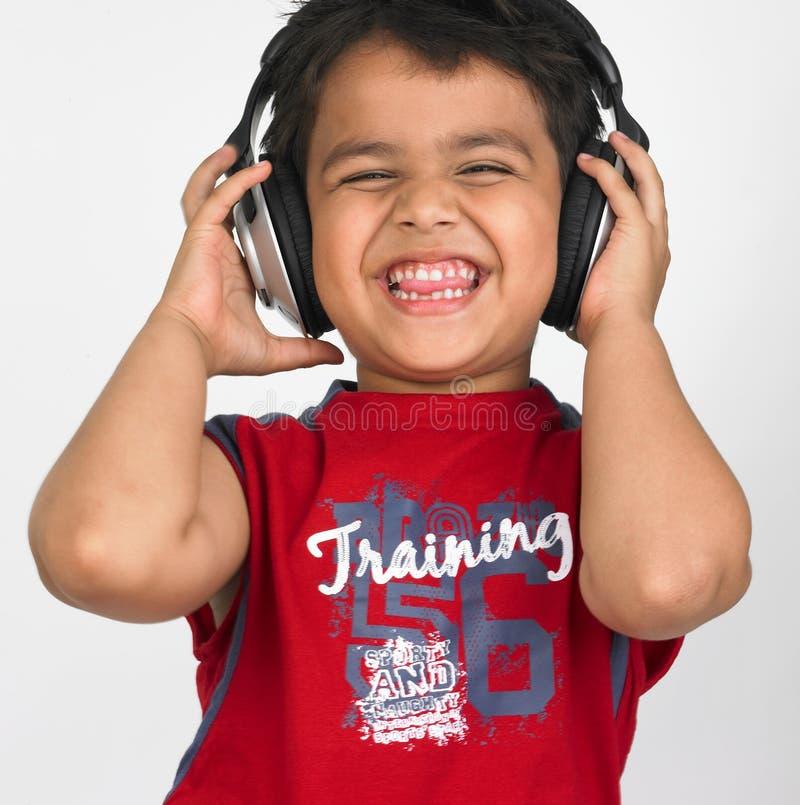 ασιατικά ακουστικά αγο& στοκ εικόνα