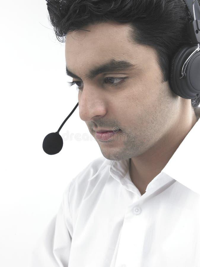 ασιατικά ακουστικά το άτ&om στοκ φωτογραφία με δικαίωμα ελεύθερης χρήσης