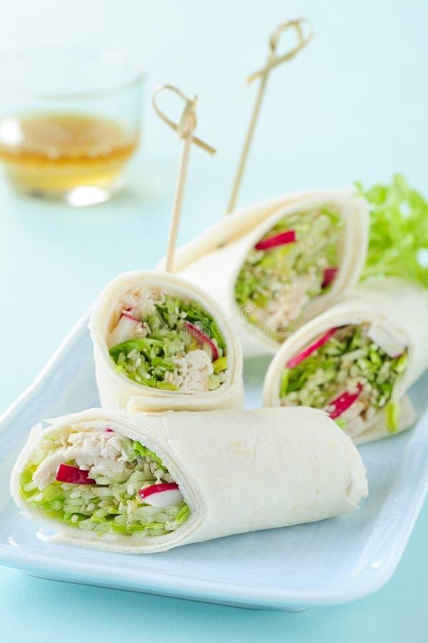Ασιατικά διάσημα τρόφιμα, λαχανικό και κοτόπουλο στοκ φωτογραφία με δικαίωμα ελεύθερης χρήσης