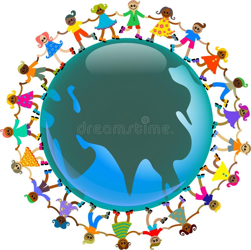 ασιατικά κατσίκια ελεύθερη απεικόνιση δικαιώματος